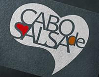 Знак и логотип танцевальной школы «Cabo de Salsa»