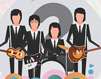 poster #kumparanGiveaway Quiz The Beatles