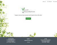 Lunt Foundation Wordpress website