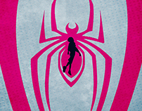 Spiderman: Into The Spiderverse Illustrated Poster
