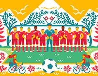 Google World Cup Doodle: Switzerland
