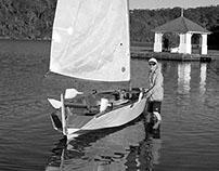 Australian wooden boat builder Peter Kovacsy