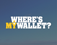 'Where's My Wallet' logo design