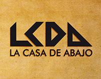 La Casa de Abajo · Branding & Cover Artwork