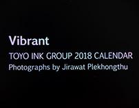 Vibrant Calendar 2018