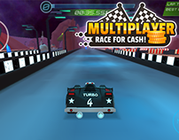 MULTIPLAYER Race for cash! - racing mobile game