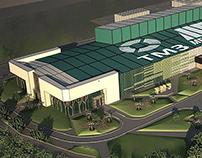 Tashkent Metallurgical Plant Visualization Concept