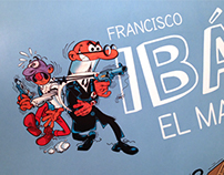 "Exhibition. ""Francisco Ibáñez. El mago del humor"""