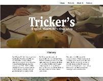 Restyling Tricker's Desktop Website