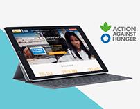 Site web de l'opération Je dej je donne pour ACF