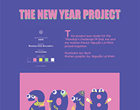 The New Year Project-Motion video