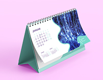 Unimed Dental Clinic Desk Calendar