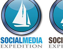 Social Media Expedition Logo Design