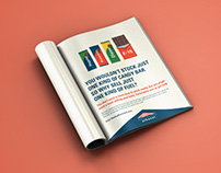 Magazine Print Ad for American Coalition of Ethanol