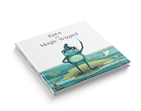 Linus the magic wizard. Book Illustration