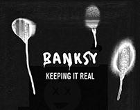 """Movie trailer: Banksy - """"Keeping It Real"""""""