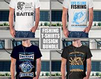 Fishing T-shirtDesign Bundle