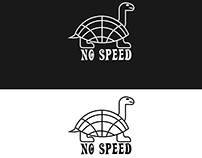 logo no speed for clothes factory
