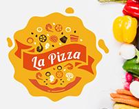 La Pizza, Brand design.
