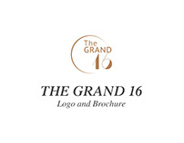 The Grand 16: Logo and Brochure