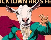 Bucktown Arts Fest Poster Design