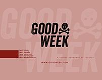 T-Shirt design - GOOD WEEK丨Дизайн одежды / футболки