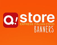 Banners para a marca Q! store