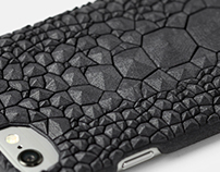 Digital Crock Pattern for iPhone6(S) case