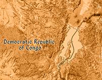 Animation Map of Lake Kivu Border