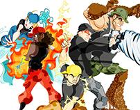 Os Elementais - O Super Sentai Brazuca
