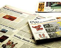 The Sunday Express: Newspaper Design