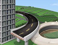 Mega Construção - Illustration/Ad