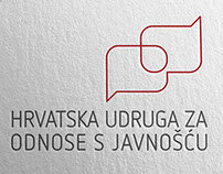 Croatian public relations association - Visual identity