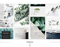 FRESH - Social media pack