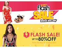 Flash Sale Web Banners Templates