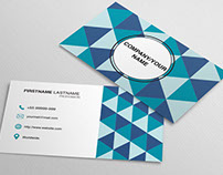 Polygon Business Card - Free Download