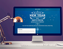 Info-Tech - New Years Greetings - Email, Website, Print