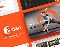 ASLAN | Gym & Fitness Template