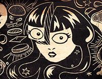 Wall Illustration - Monkey Bar