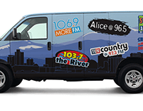 Reno Media Group Van Wrap 2016