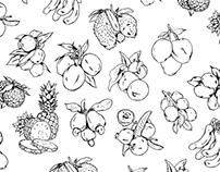 Ilustração Polpa de fruta COOPERFAN