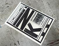 Ink different - letterpress
