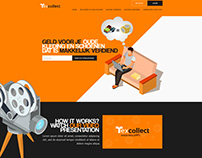 Tex Collect - Website Restyling
