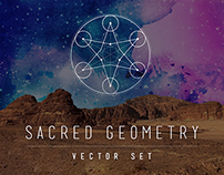 Sacred Geometry Vector Set