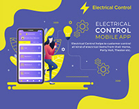 Electrical Controller Mobile APP-UI UX