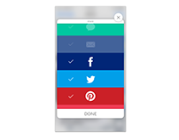 Daily UI - 010 - Social Share