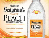 Seagram's Vodka Event Posters