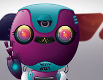 Betty Bot - Pictoplasma: Character Selfies