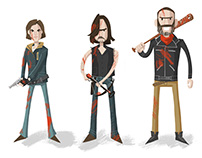 Walking Dead Lineup