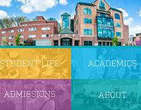 Kettering College - Website Design